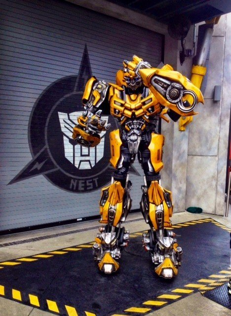 BumbleBee Transformer Universal Orlando Florida Sarah Slattery The Travel Expert.