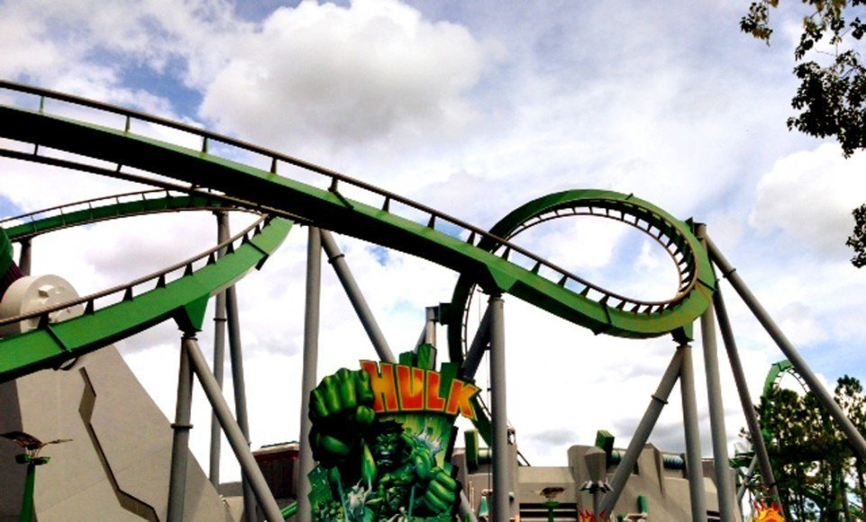 The Hulk Rollercoaster Sarah Slattery The Travel Expert Orlando Florida