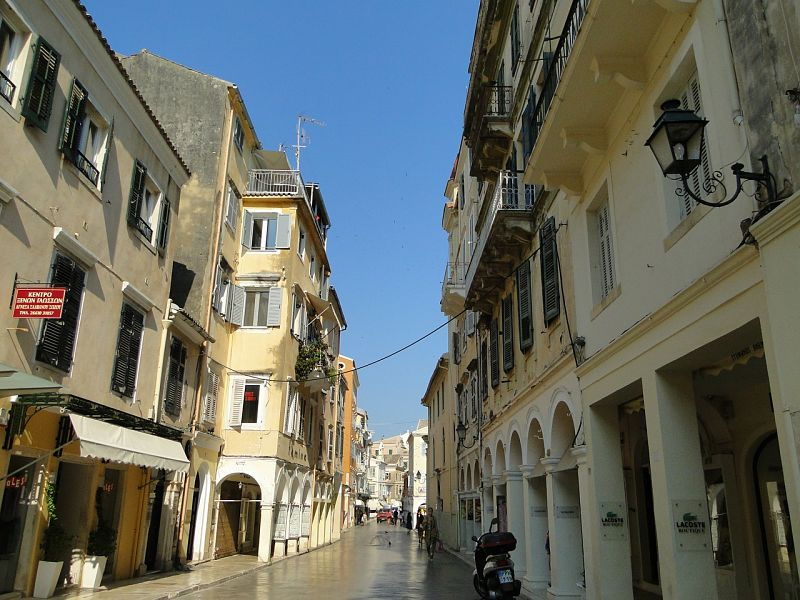 Corfu town, The Travel Expert, Sarah Slattery