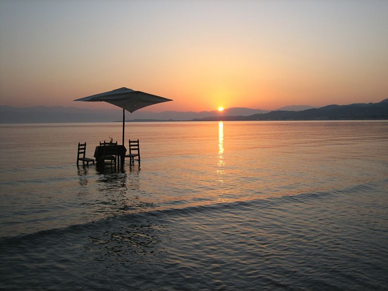 Corfu Sunrise, The Travel Expert, Sarah Slattery
