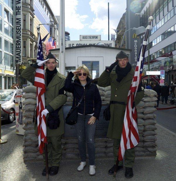 The Travel Expert, Sarah Slattery, Berlin, Checkpoint Charlie