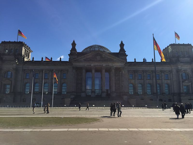 The Reichstag Building, Berlin, Sarah Slattery, The Travel Expert