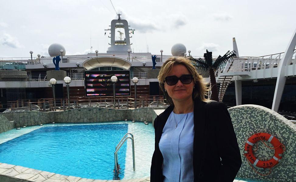 MSC Splendida, Sarah Slattery, The Travel Expert