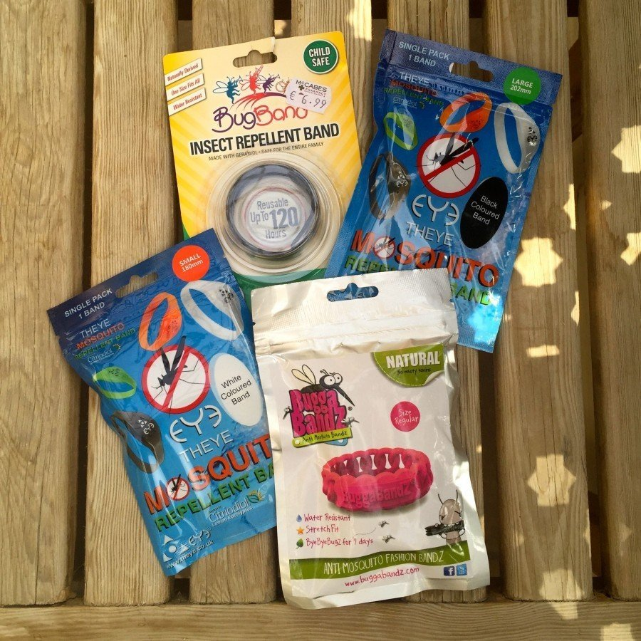 Sarah Slattery, The Travel Expert reviews various mosquito bands and repellents