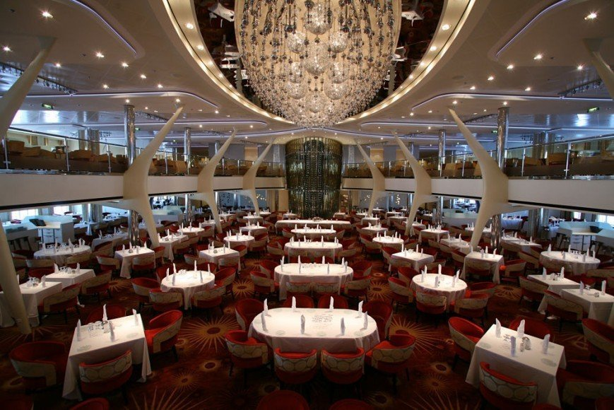 Image result for celebrity reflection main dining