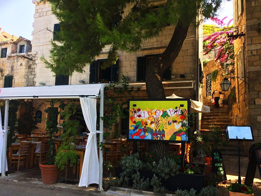 Bugenvila Restaurant, Cavtat, by The Travel Expert