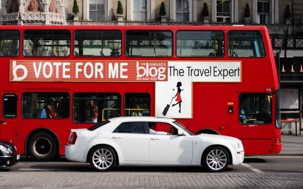 Vote for The Travel Expert in the Irish Blog Awards