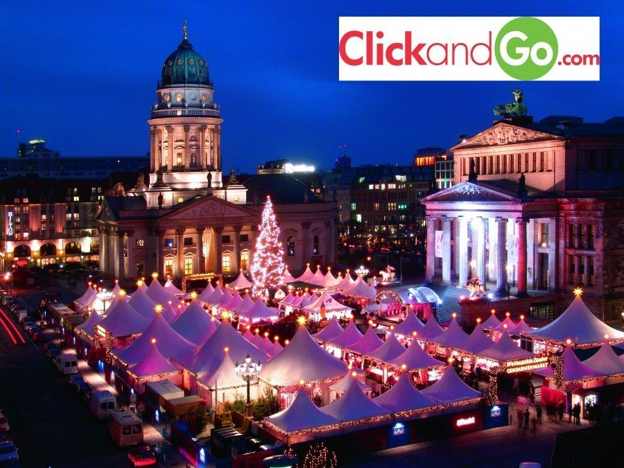 Christmas market in Berlin by The Travel Expert as seen on SundayAM TV3