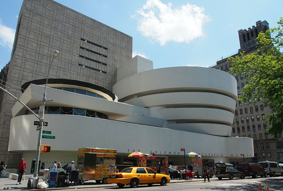 Guggenheim museum, one of the top 25 things to do in New York