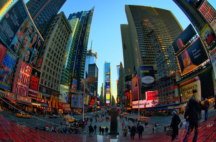 Times Square, one of the top 20 things to do in New York by The Travel Expert
