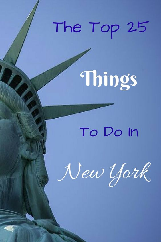 top 25 things to do in new york