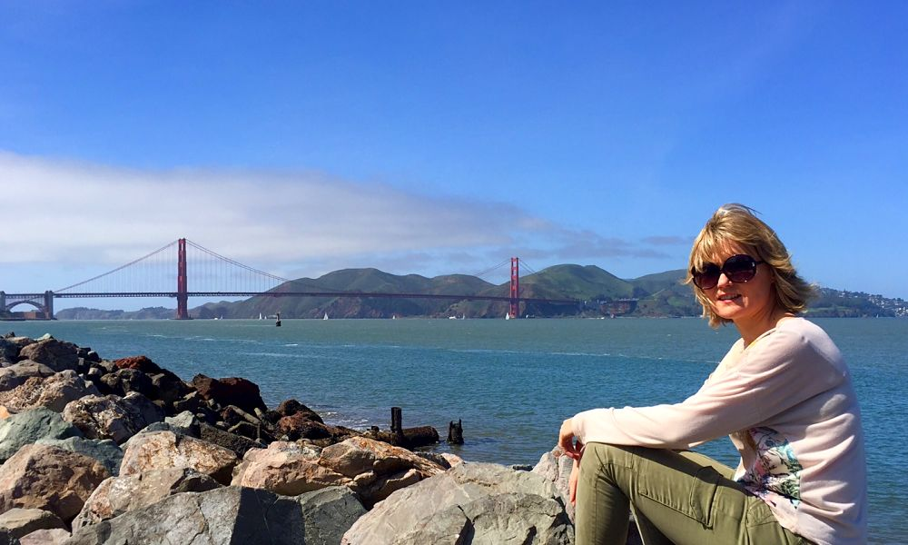 San Francisco - biking the Golden Gate bridge by The Travel Expert