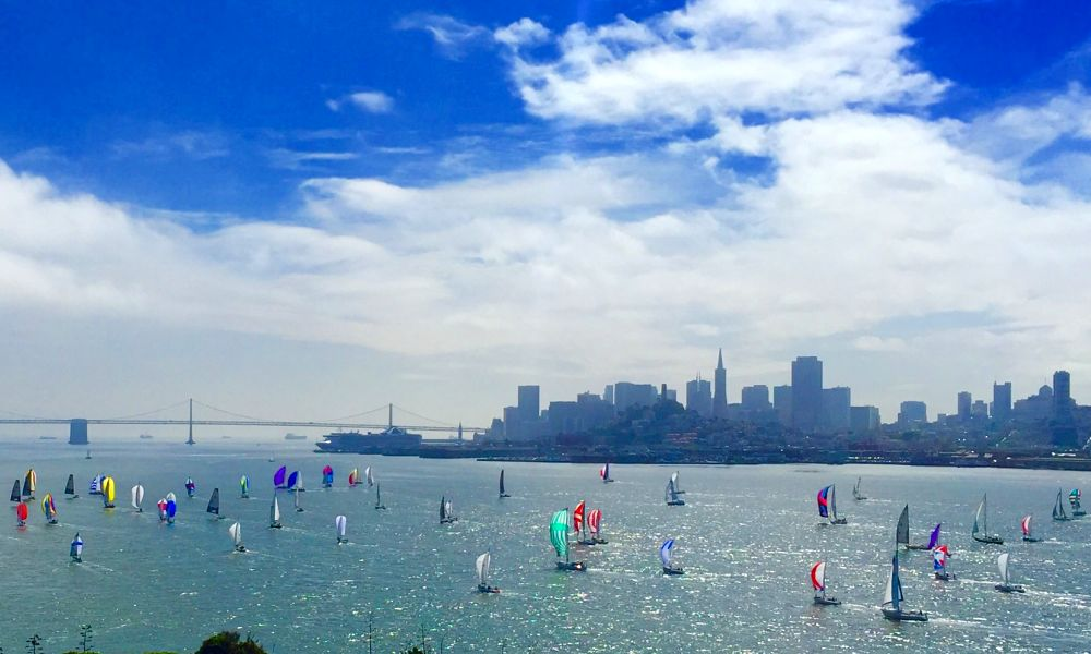 View from Alcatraz, the streets of San Francisco, by the Travel Expert