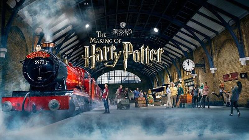 Harry Potter Experience London as discussed for family holidays on TV3