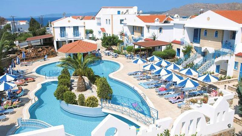 Pefki Islands Resort, Rhodes as discussed for family holidays on TV3