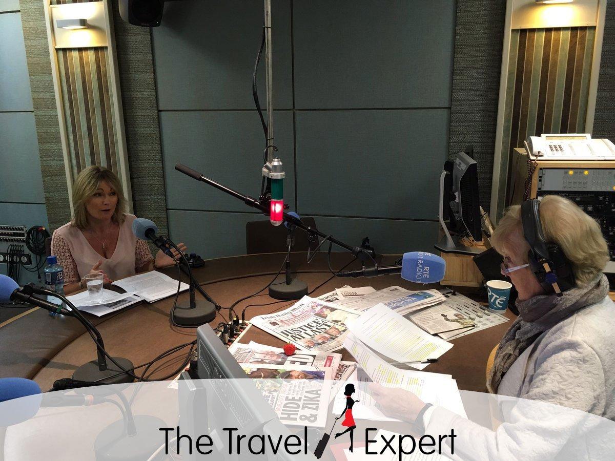 The Travel Expert, Sarah Slattery on RTE's Marian Finucane Show
