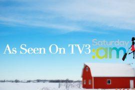 Winter breaks as seen on TV3's Saturday AM