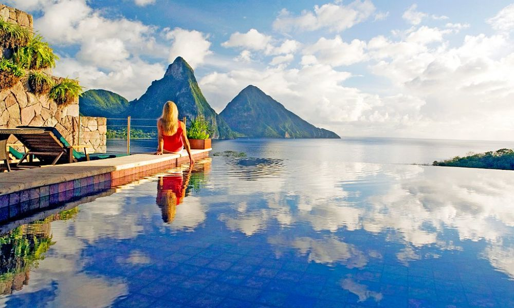 Jade Mountain - five star hotels in the Caribbean