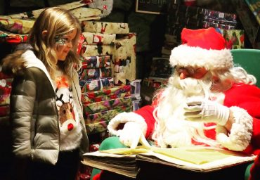 best santa visits