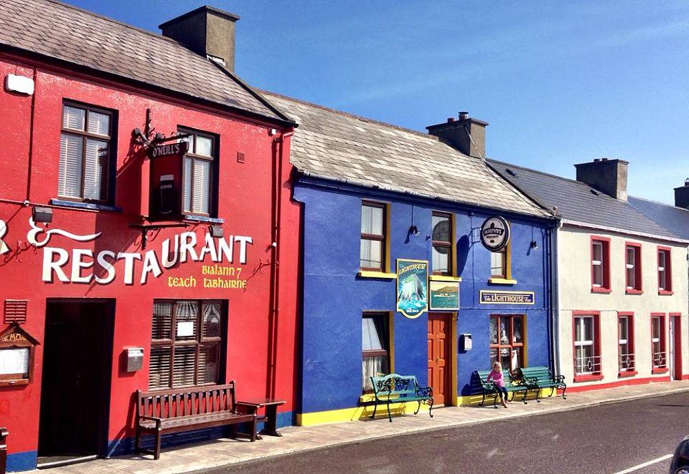 Traditional Irish pub in West Cork