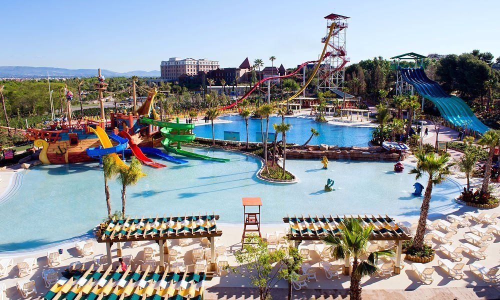 caribe water park, one of the reasons to visit portaventura
