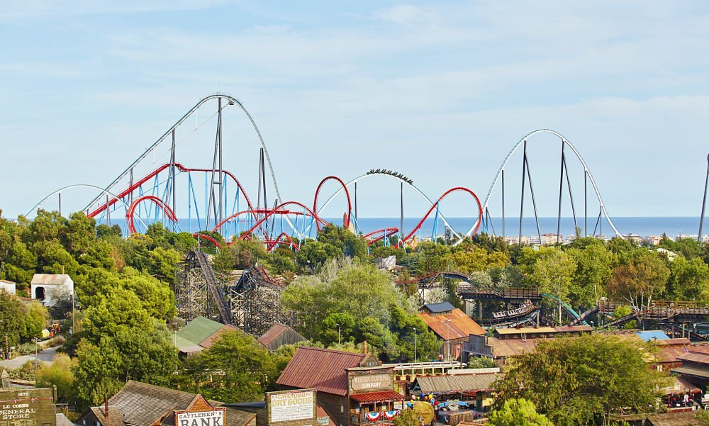 rollercoasters - one of the reasons to visit portaventura