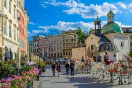 october bank holiday weekend in Krakow