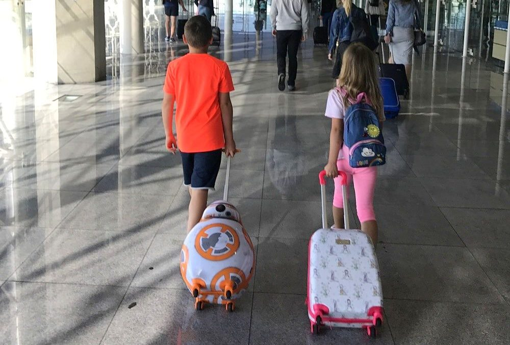 tips for travelling with kids