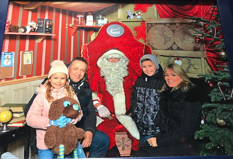 Visiting Santa at Fota Island Resort