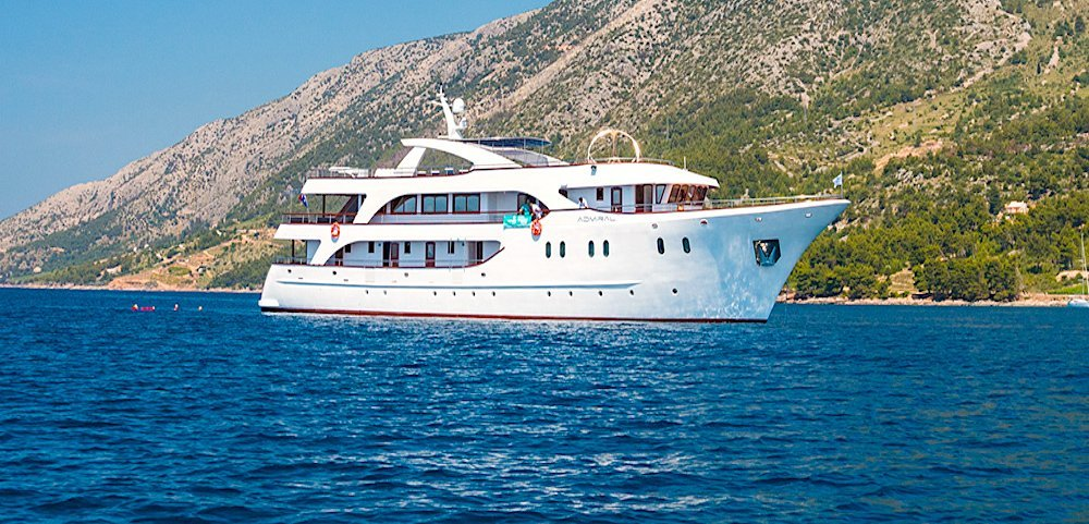 Croatia on a luxury yacht