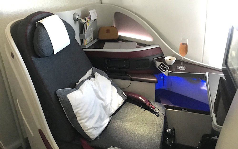 review of qatar airways service