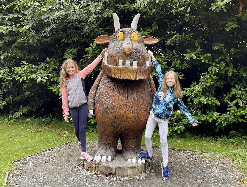 The Gruffalo Walk is one of the best things to do in Wexford with kids
