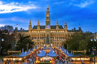 christmas market break in vienna