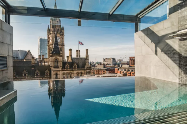 Best Hotels with Infinity Pools: Kings Street Townhouse