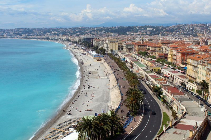 summer holiday in nice
