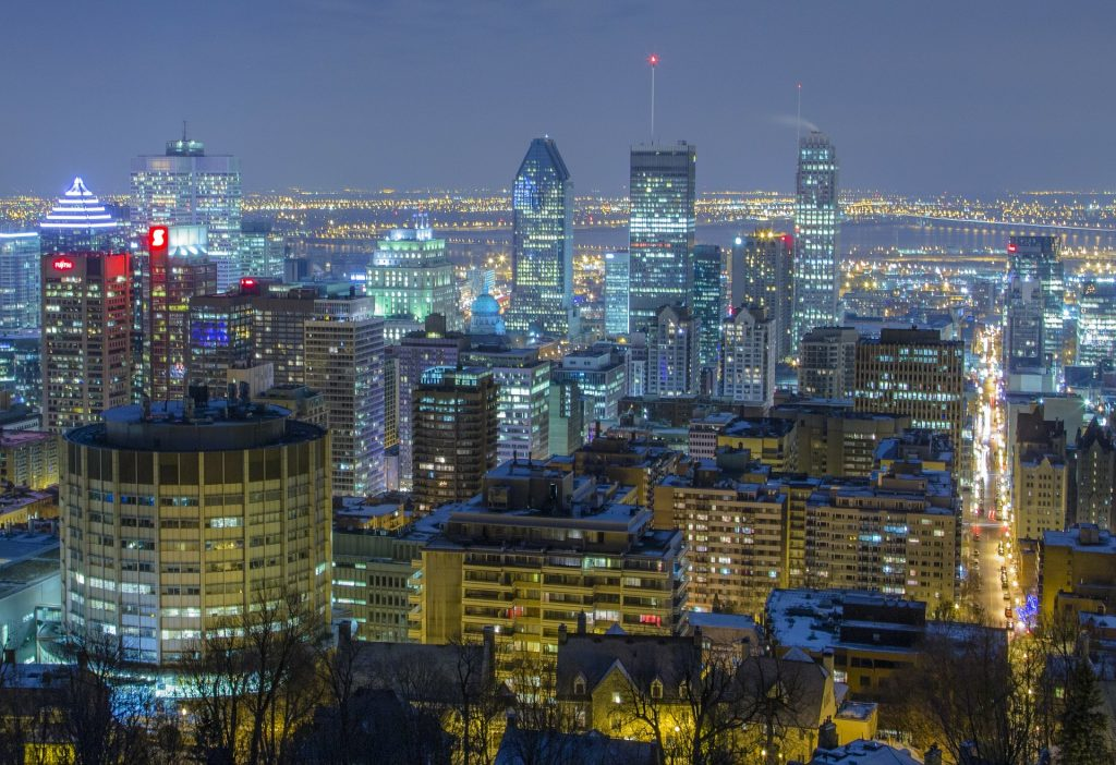 New Destinations from Dublin Airport - Montreal