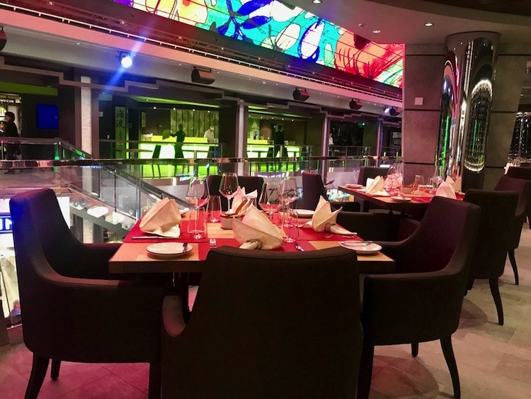 butchers cut dining on msc bellissima