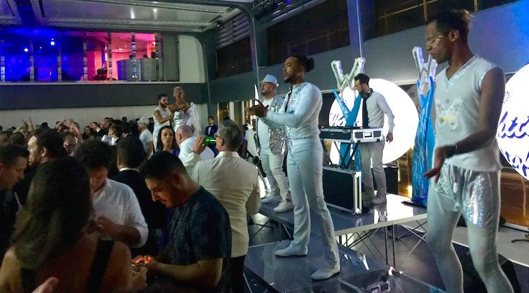 white party on msc bellissima