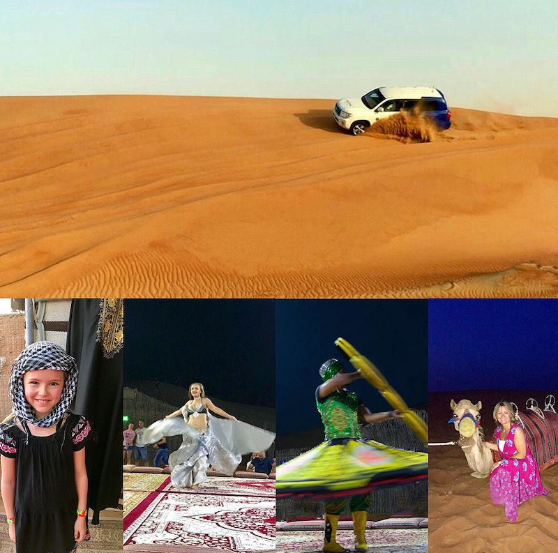 family activities in dubai - desert safari