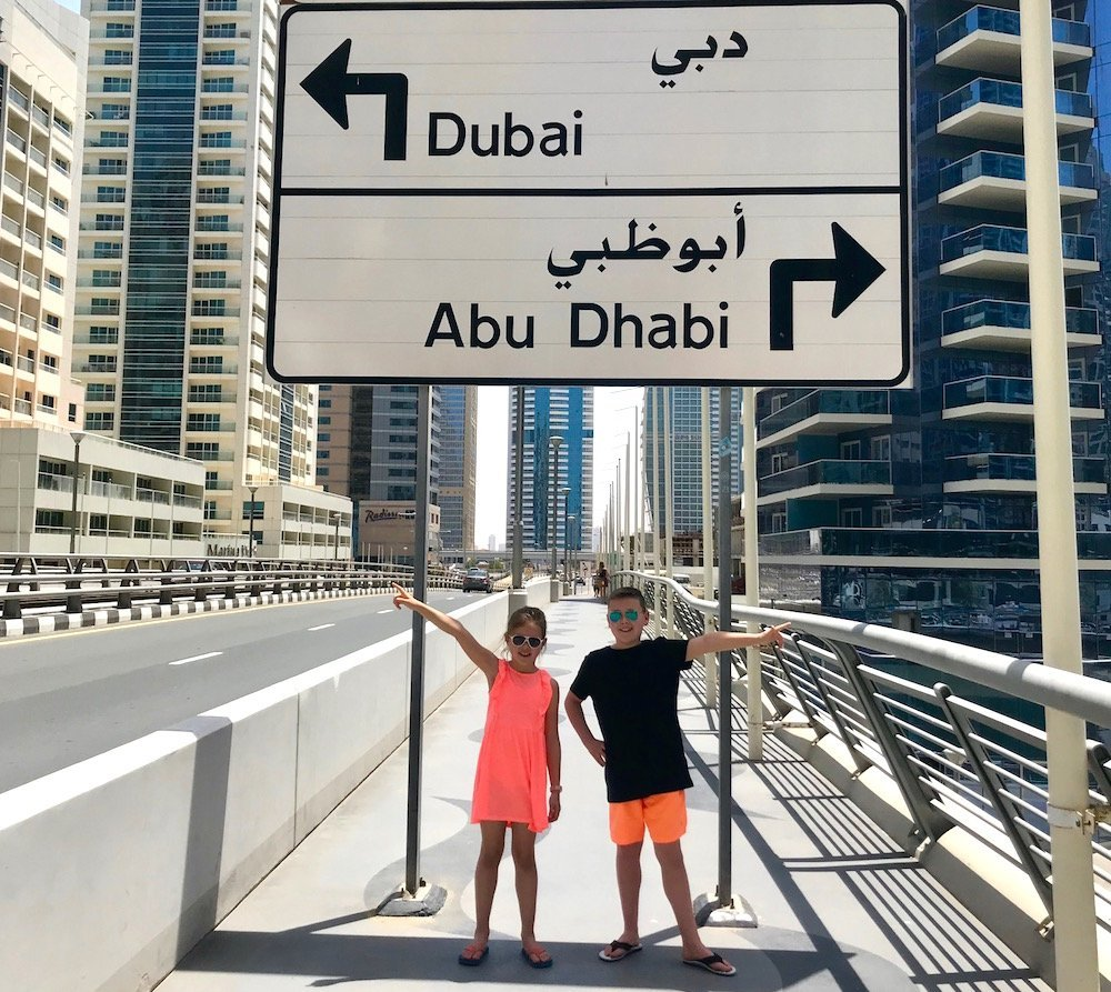 dubai or abh dhabi with kids
