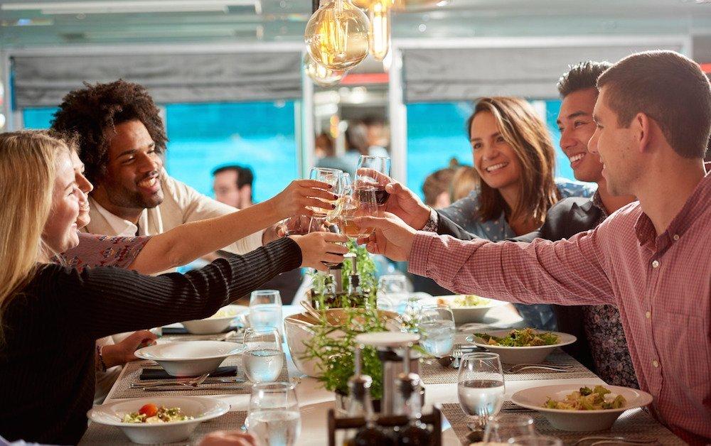 dining on u river cruises