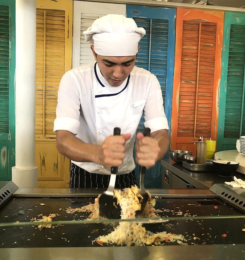 teppanyaki at centara grand maldives