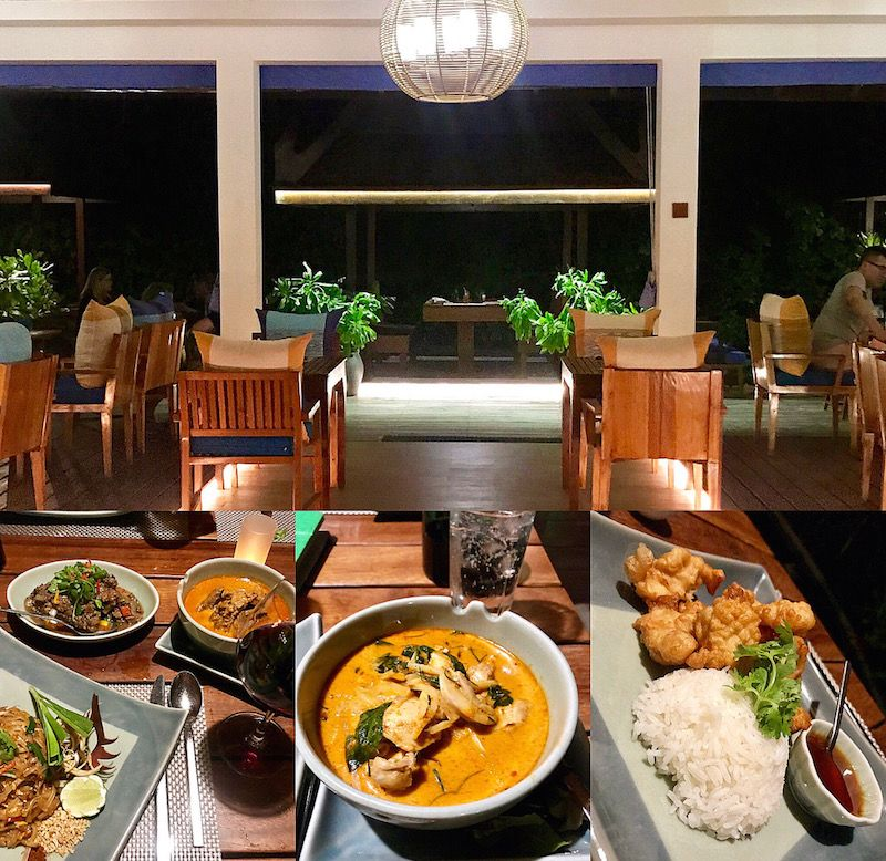 thai restaurant at centara grand maldives