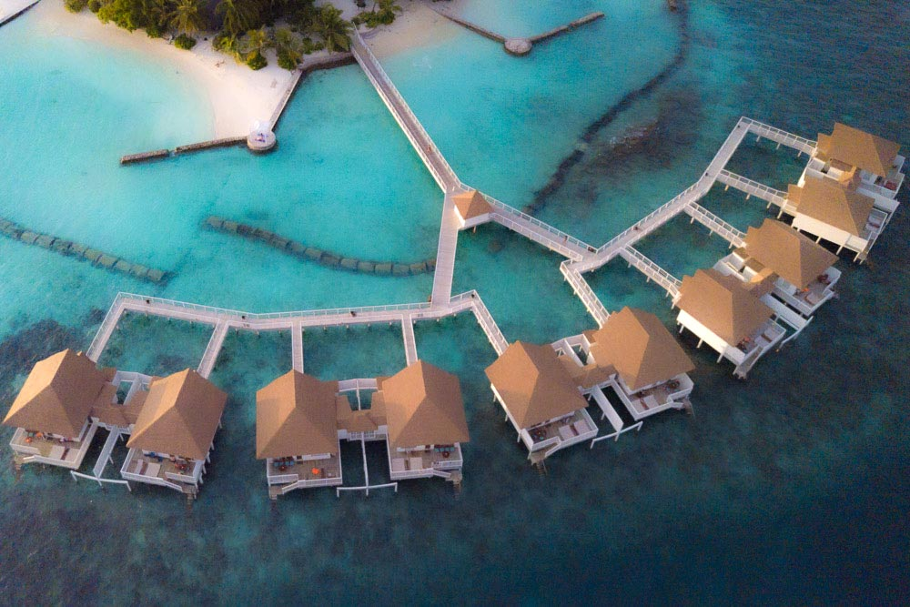 centara grand maldives over water villas