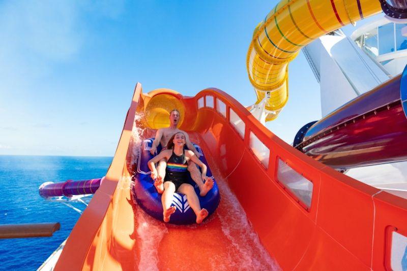 Blaster slide - family cruises