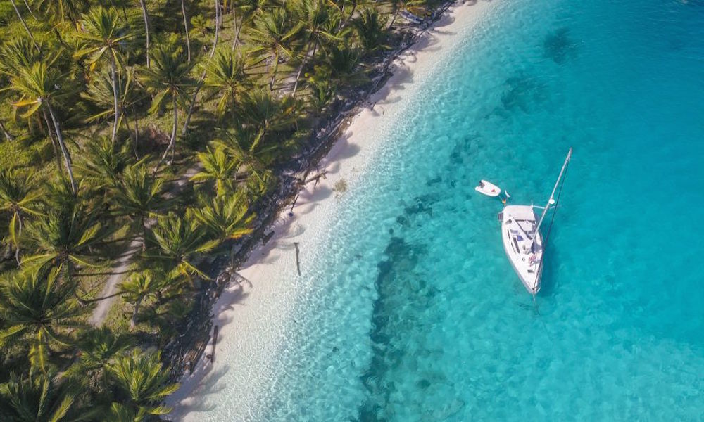 yacht caribbean