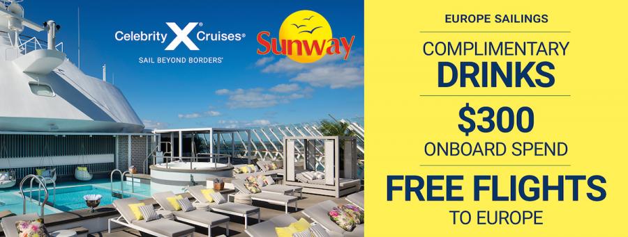 sunway celebrity cruise