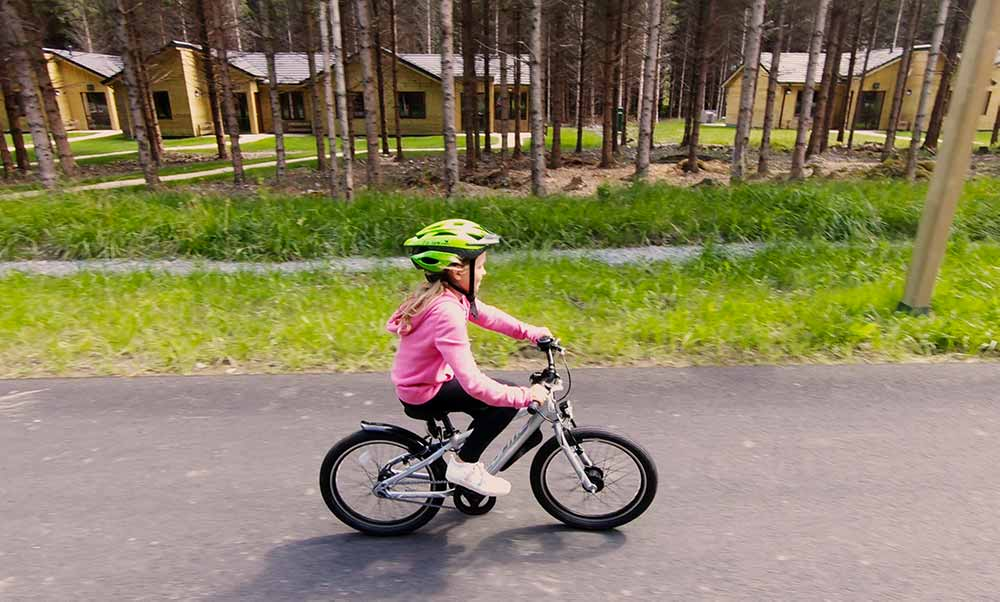 CP Cycling in Center Parcs Longford