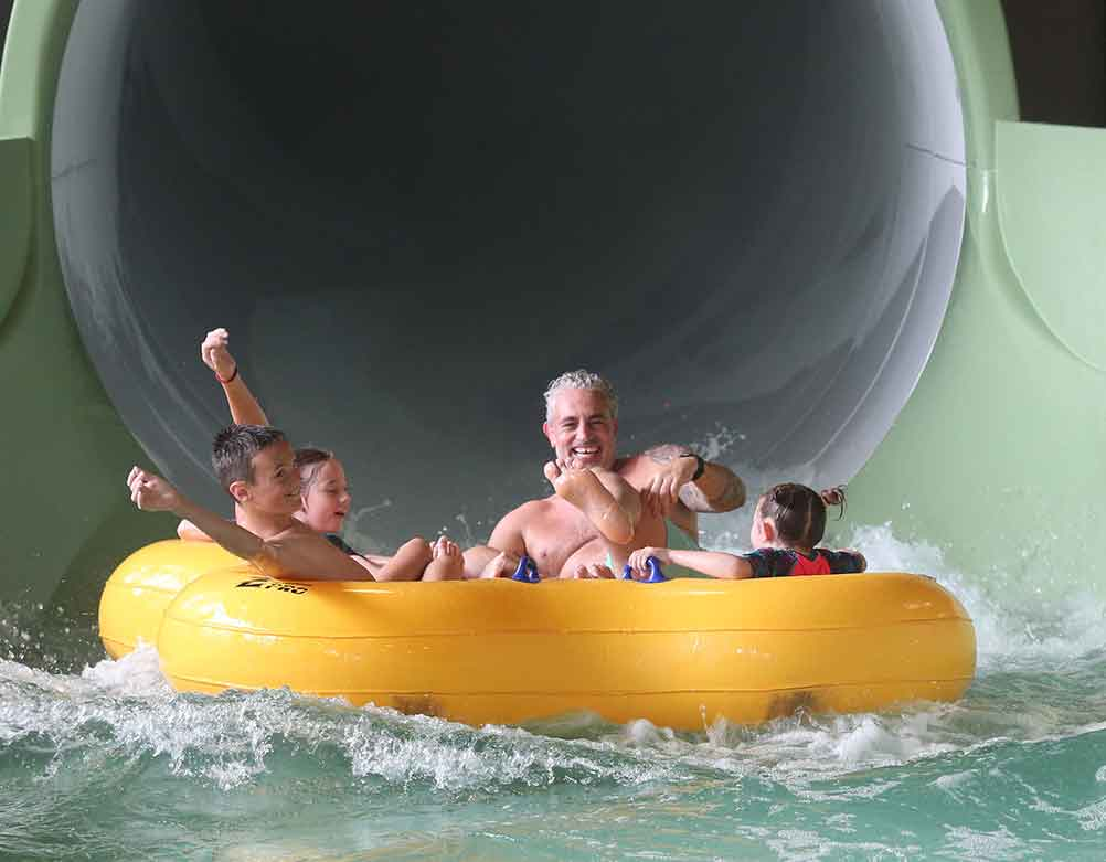 center parcs water slides