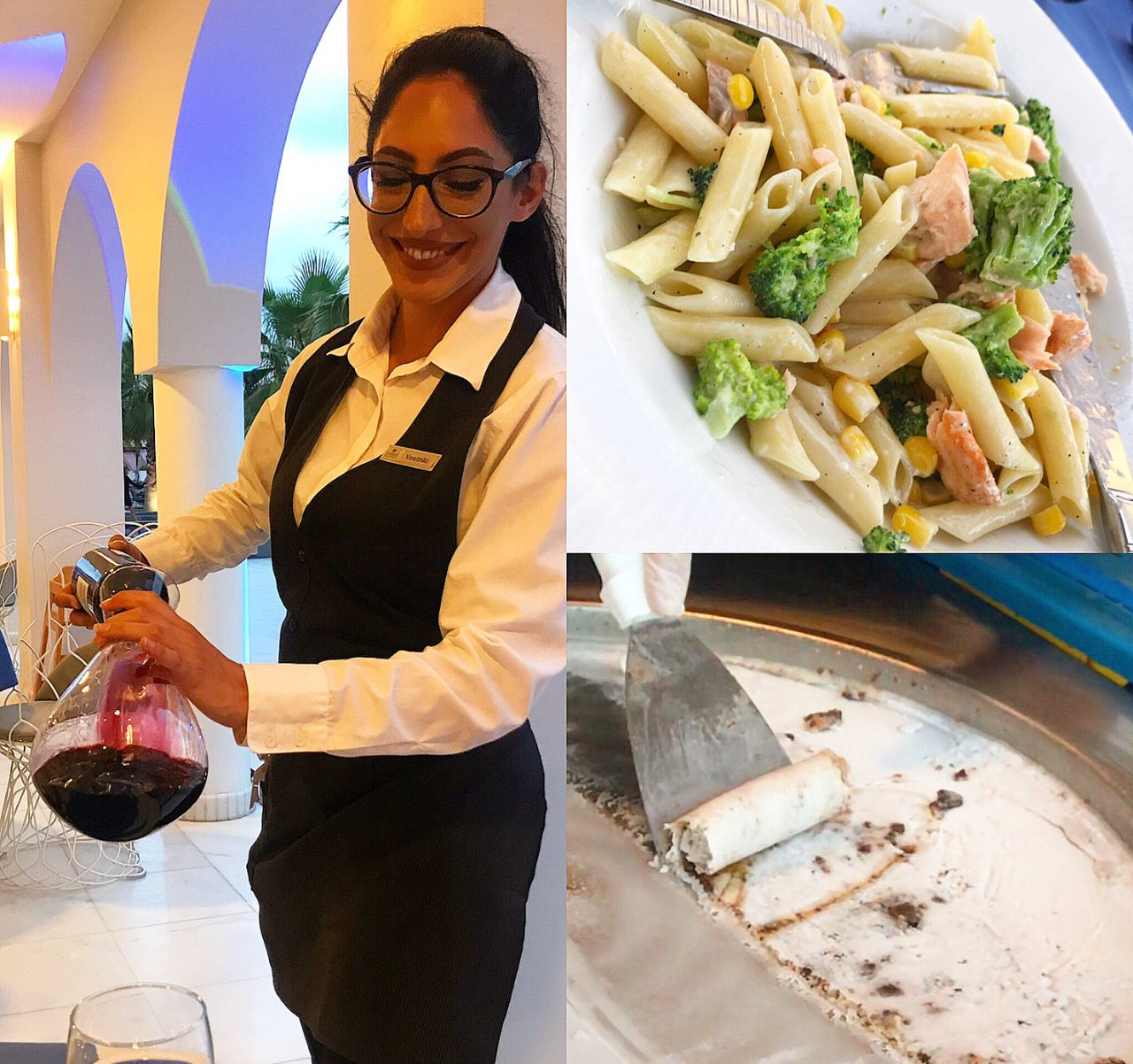 food at Anemos Luxury Grand Resort
